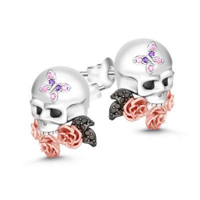 Cráneo y Rosa