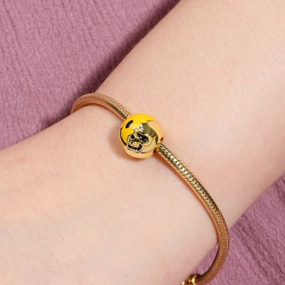 Charm Smiley y Calavera