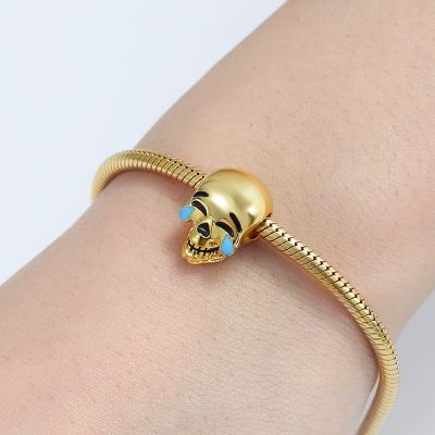 Charm Calavera De Laugh Cry